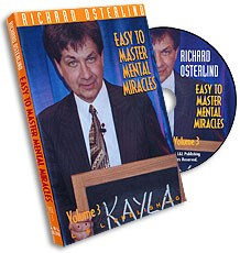 Easy to Master Mental Miracles Volume 3 - magic
