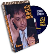 Easy to Master Mental Miracles Volume 4 - magic