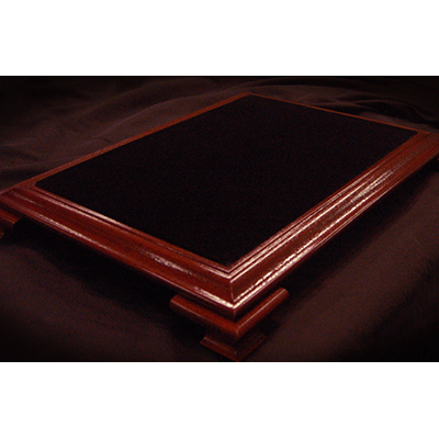 Elite Table Mahogany with Black Velvet - magic