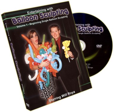 Entertaining With Balloon Sculpting  - Volume 1 - magic