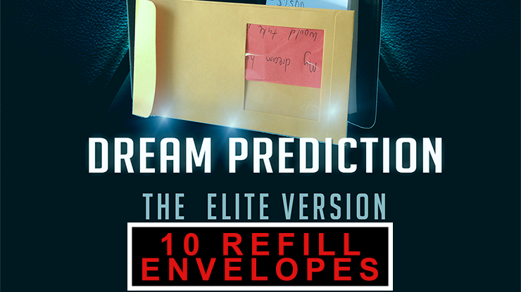 Envelopes for Dream Prediction Elite (10 pack) - magic