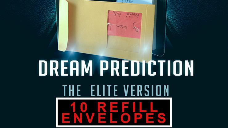 Envelopes for Dream Prediction Elite (10 pack) - magic