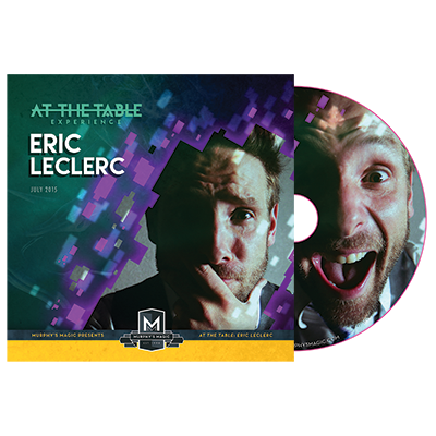 Eric Leclerc Live Lecture DVD - magic