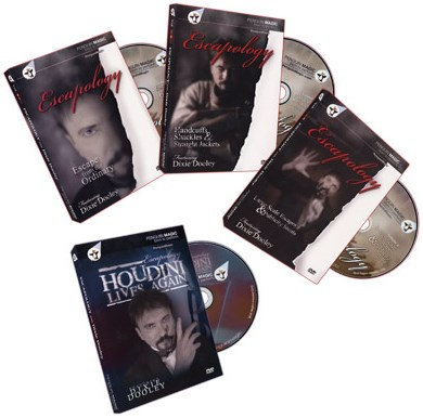 Escapology Volumes 1-3 + Bonus: Houdini Lives - magic