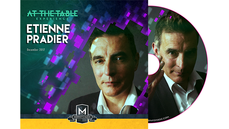 Etienne Pradier Live Lecture DVD - magic