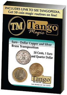 Euro-Dollar Silver/Copper/Brass Transposition - magic