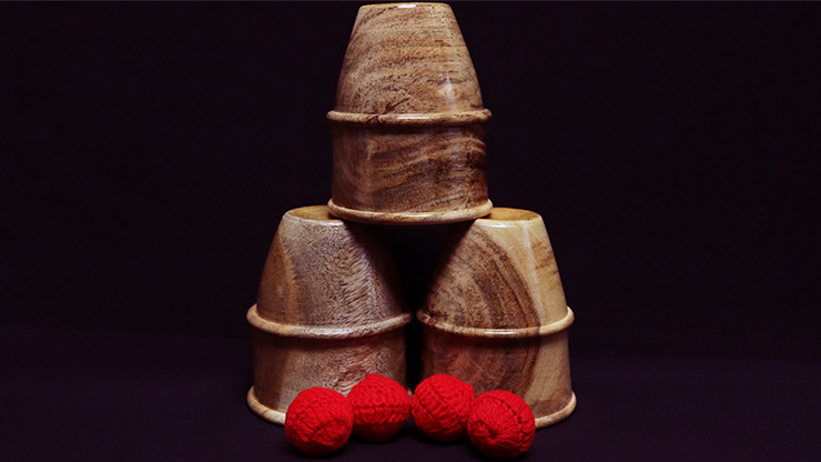 Exotic Cups and Balls - magic