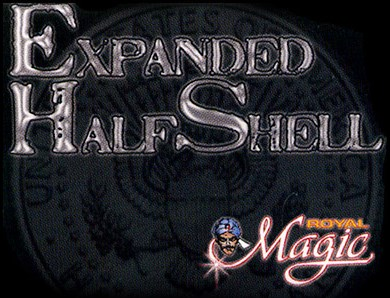 Expanded Half Dollar Shell (Struck) - magic