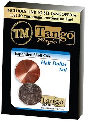 Expanded Shell Coin - Half Dollar - magic