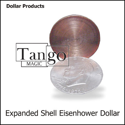 Expanded Shell - Eisenhower Dollar - magic