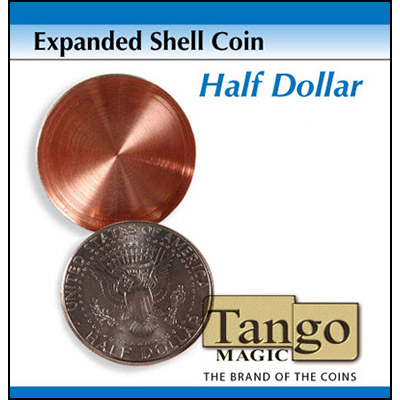 Expanded Shell - Half Dollar (Heads) - magic
