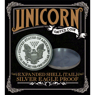 Expanded shell - Silver Eagle Proof (Tails) - magic