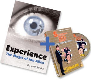 Experience book & DVD offer - magic