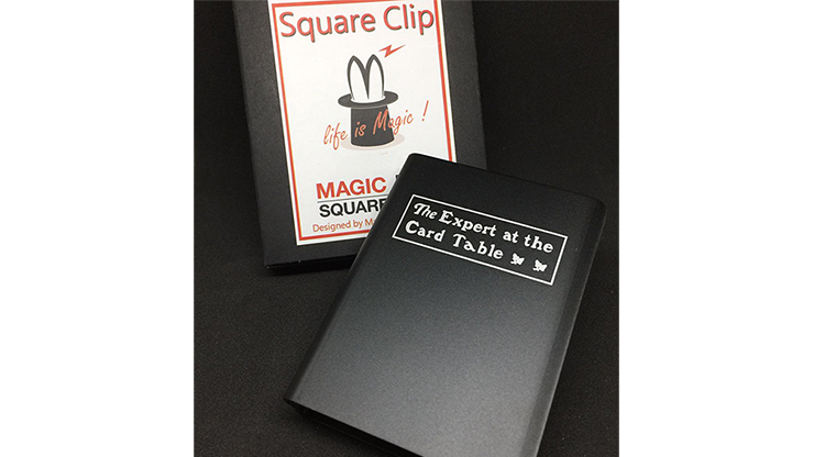 Expert At The Card Table Card Clip - magic