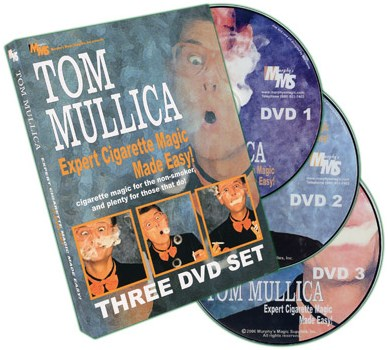 Expert Cigarette Magic Made Easy - 3 DVD Set - magic