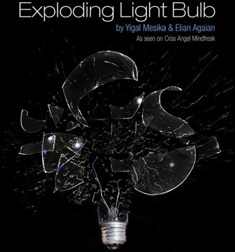 Exploding Light Bulb - magic