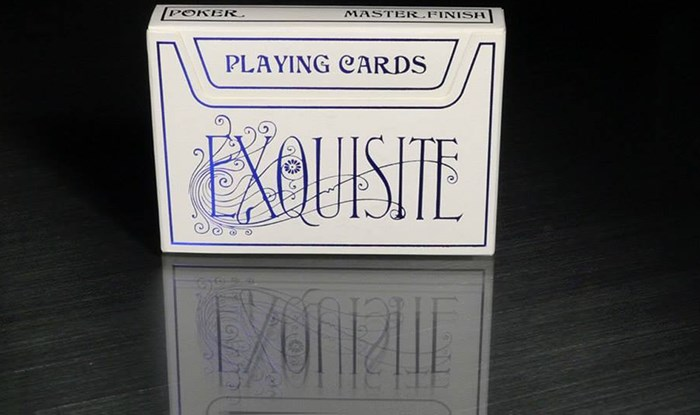 Exquisite Playing Cards (Blue) - magic