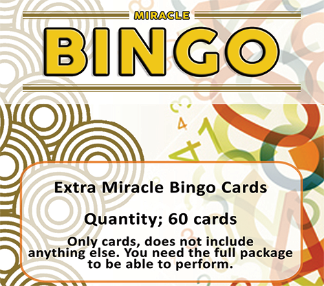 Extra Cards for Miracle Bingo - magic