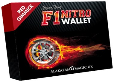 F1 Nitro Wallet Red - magic