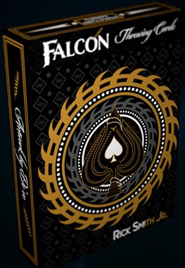 Falcon Throwing Cards - magic