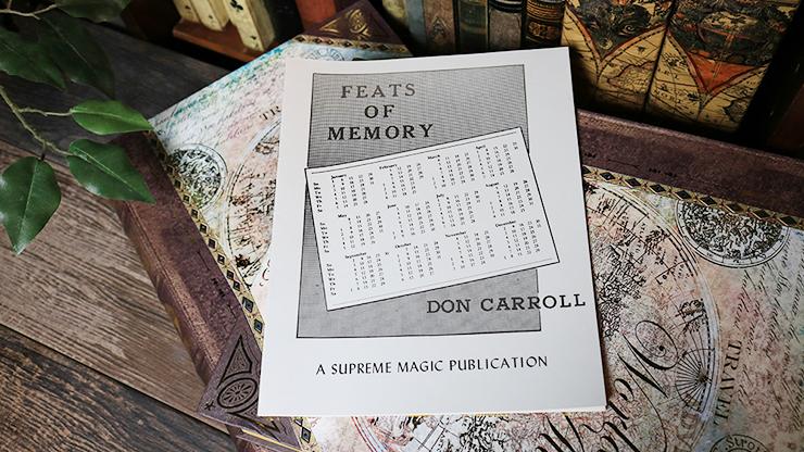 Feats of Memory - magic