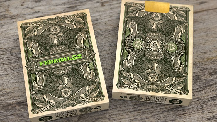 Federal 52 2nd Edition Playing Cards - magic