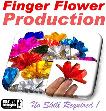 Finger Flower Production - magic