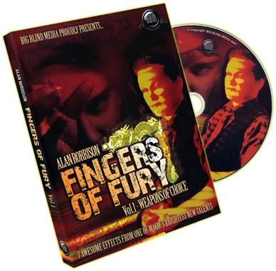 Fingers of Fury Volume1 - magic
