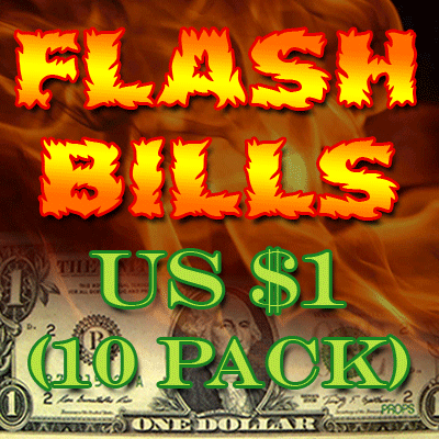 Flash Bill Ten Pack ($1) - magic