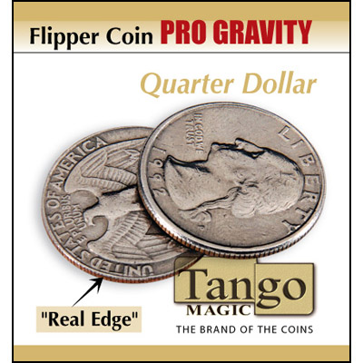 Flipper - Pro Gravity - Quarter Dollar - magic
