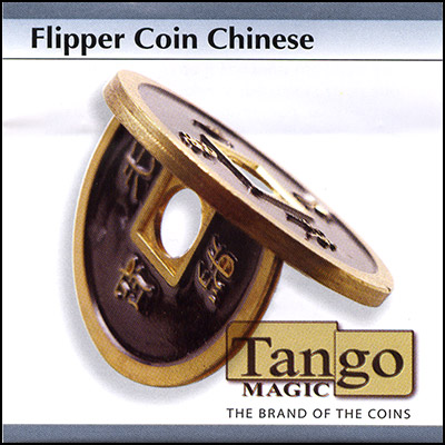 Flipper - Chinese Coin - Black - magic