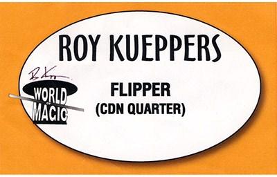 Flipper Coin - Canadian Quarter - magic
