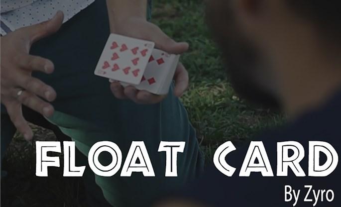 FLOAT CARD - magic