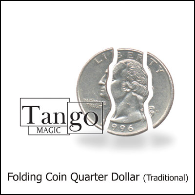 Folding Coin - Quarter Dollar - magic