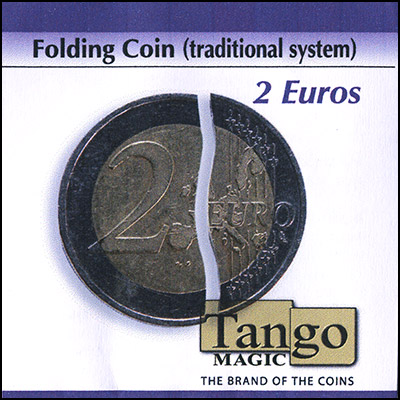 Folding Coin - 2 Euros - magic