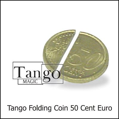 Folding Coin - 50 Euro Cents - Premium - magic