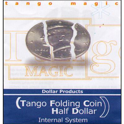 Folding Coin - Half Dollar - Premium - magic