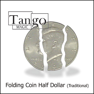 Folding Coin - Half Dollar - magic