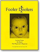Fooler Droolers Lecture Notes - magic