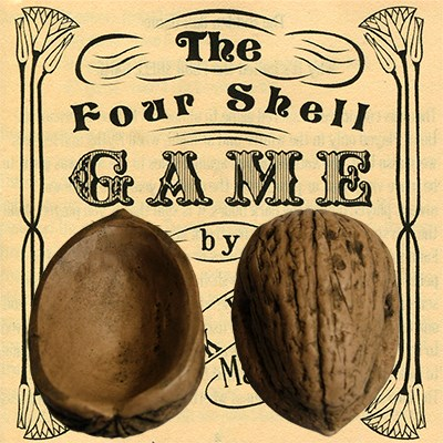 Four Superior Walnut Shells - magic