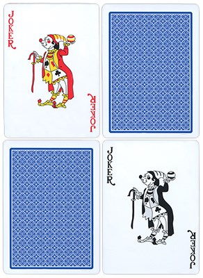 Fournier Plastic Playing Cards - Regular Pips - magic