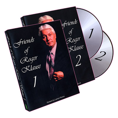 Friends of Roger Klause - 2 DVD set - magic