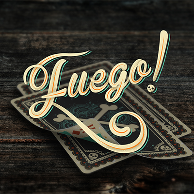 Fuego! - Day of the Dead Inspired Playing Cards (Sol Edition) - magic