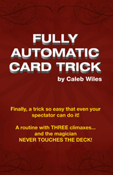 Fully Automatic Card Trick - magic