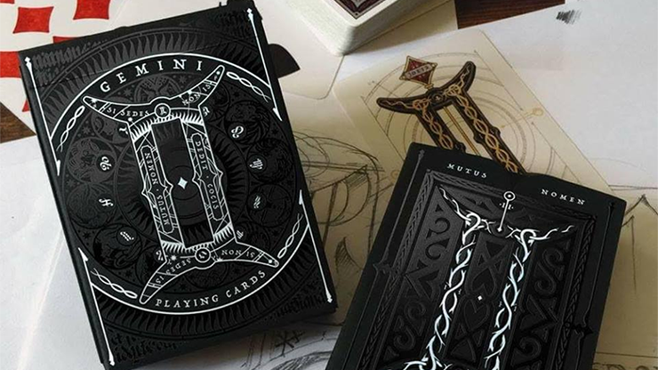 Gemini Noctis  Playing Cards - magic