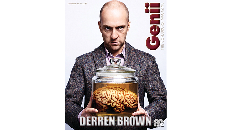 "Genii Magazine ""Derren Brown"" September 2017 - magic"