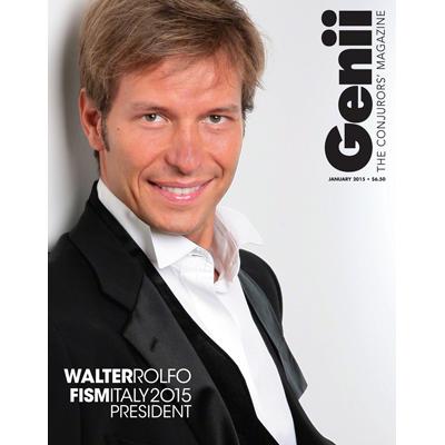 Genii Magazine - January 2015  - magic