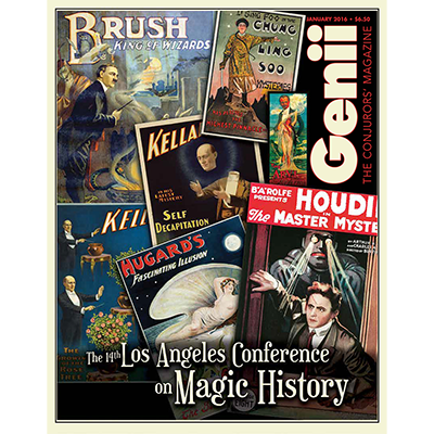 Genii Magazine - January 2016 - magic