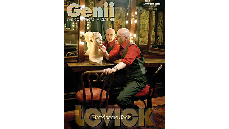 Genii Magazine January 2018 - magic