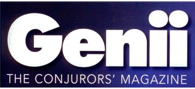 Genii Magazine July 2014 - magic